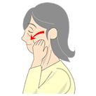 耳下腺への刺激