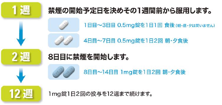 禁煙補助薬バレニクリンの使い方 | e-ヘルスネット 情報提供